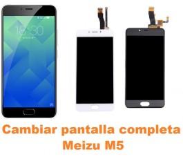 Cambiar pantalla completa Meizu M5