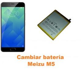Cambiar batería Meizu M5