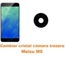 Cambiar cristal cámara trasera Meizu M5