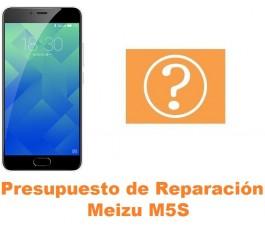 Presupuesto de reparación Meizu M5S
