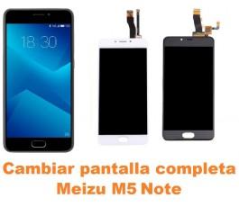 Cambiar pantalla completa Meizu M5 Note
