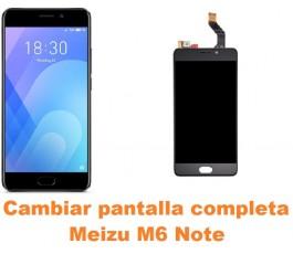 Cambiar pantalla completa Meizu M6 Note