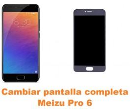 Cambiar pantalla completa Meizu Pro 6