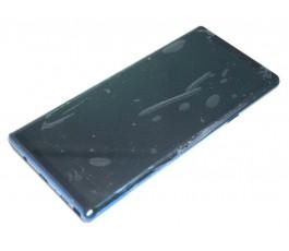 Pantalla completa con marco para Samsung Note 9 N960 azul