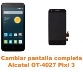 Cambiar pantalla completa Alcatel Pixi 3 (4.5) OT-4027
