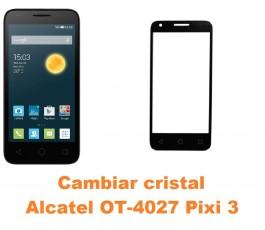 Cambiar cristal pantalla Alcatel Pixi 3 (4.5) OT-4027