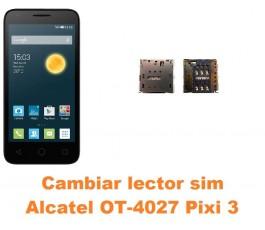 Cambiar lector sim Alcatel Pixi 3 (4.5) OT-4027