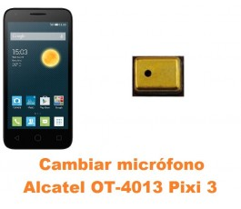 Cambiar micrófono Alcatel Orange Rise 30 OT-4013