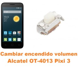 Cambiar encendido y volumen Alcatel Orange Rise 30 OT-4013