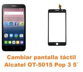 Cambiar pantalla táctil cristal Alcatel OT-5015 Pop 3 5´