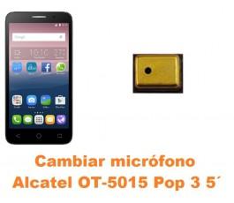 Cambiar micrófono Alcatel OT-5015 Pop 3 5´