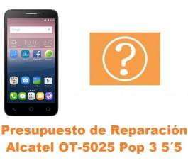 Presupuesto de reparación Alcatel OT-5025 Pop 3 5.5´