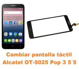 Cambiar pantalla táctil cristal Alcatel OT-5025 Pop 3 5.5´