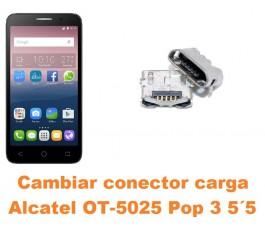 Cambiar conector carga Alcatel OT-5025 Pop 3 5.5´