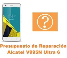 Presupuesto de reparación Alcatel V995N