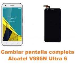 Cambiar pantalla completa Alcatel V995N