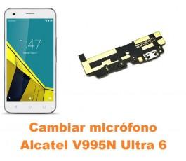 Cambiar micrófono Alcatel V995N