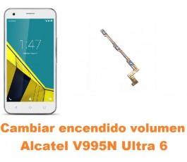 Cambiar encendido y volumen Alcatel V995N