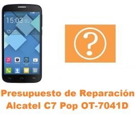 Presupuesto de reparación Alcatel C7 Pop OT-7041D