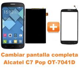 Cambiar pantalla completa Alcatel C7 Pop OT-7041D