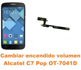 Cambiar encendido y volumen Alcatel C7 Pop OT-7041D