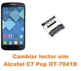 Cambiar lector sim Alcatel C7 Pop OT-7041D