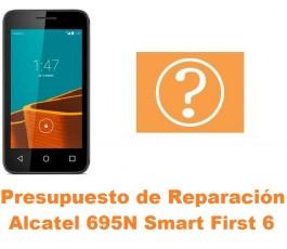 Presupuesto de reparación Alcatel 695N Smart First 6