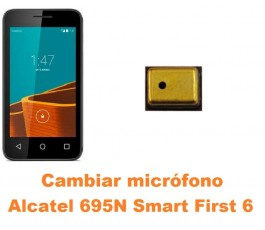 Cambiar micrófono Alcatel 695N Smart First 6