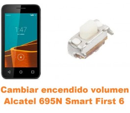Cambiar encendido y volumen Alcatel 695N Smart First 6