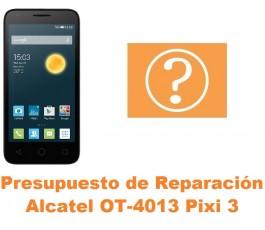 Presupuesto de reparación Alcatel Orange Rise 30 OT-4013
