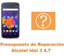 Presupuesto de reparación Alcatel Idol 3 4.7