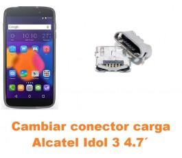 Cambiar conector carga Alcatel Idol 3 4.7