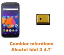 Cambiar micrófono Alcatel Idol 3 4.7