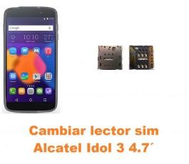Cambiar lector sim Alcatel Idol 3 4.7