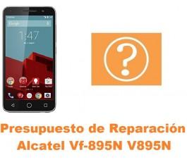 Presupuesto de reparación Alcatel V895N
