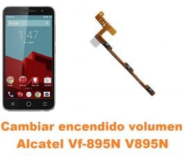 Cambiar encendido y volumen Alcatel V895N