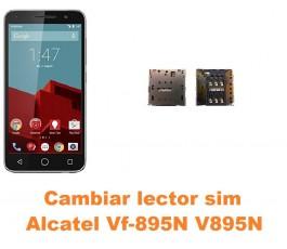 Cambiar lector sim Alcatel V895N