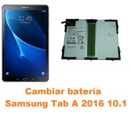 Cambiar batería Samsung Tab A 2016 10.1 T580 T585