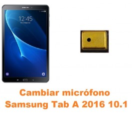 Cambiar micrófono Samsung Tab A 2016 10.1 T580 T585