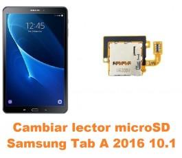 Cambiar lector microSD Samsung Tab A 2016 10.1 T580