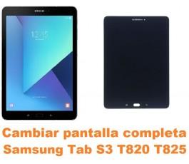 Cambiar pantalla completa Samsung Tab S3 T820 T825