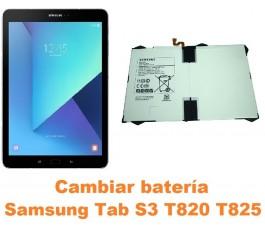 Cambiar batería Samsung Tab S3 T820 T825