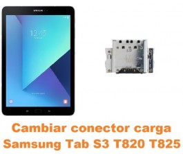 Cambiar conector carga Samsung Tab S3 T820 T825