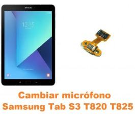 Cambiar micrófono Samsung Tab S3 T820 T825