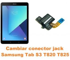 Cambiar conector jack Samsung Tab S3 T820 T825