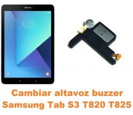 Cambiar altavoz buzzer Samsung Tab S3 T820 T825