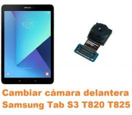 Cambiar cámara delantera Samsung Tab S3 T820 T825
