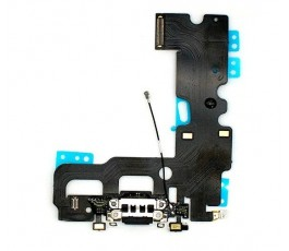 Flex conector carga y micrófono para iPhone 7 negro