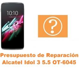 Presupuesto de reparación Alcatel OT-6045 Idol 3 5.5