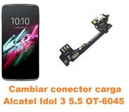 Cambiar conector carga Alcatel OT-6045 Idol 3 5.5